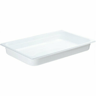 Gastronormbehälter NEW MODEL Polycarbonat weiß GN 1/1 530 x 325 x 65 mm 9,0 L