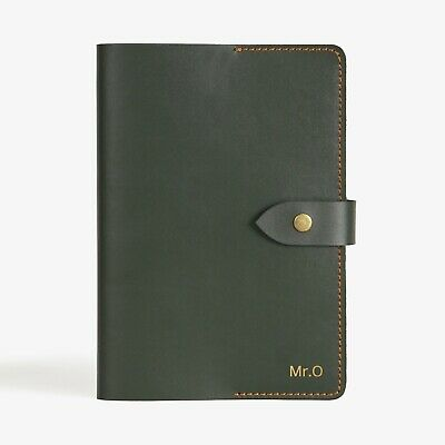 A5 Notebook Refillable Diary Leather Journal Cover Hobonichi Moleskine Cover