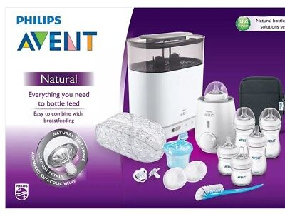 Brand New Philips AVENT Natural Bottle Solutions Set