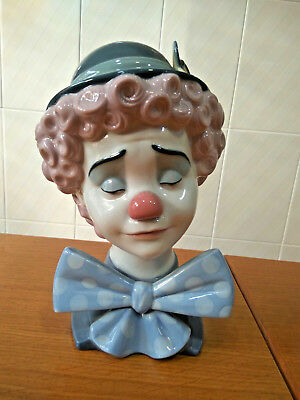 Lladro 01005611 Sad Clown Retired 1997 Second category No Used 5611