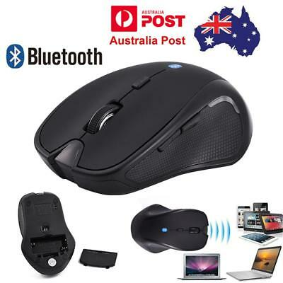 Portable 2.4G 1600CPI Bluetooth 3.0 Wireless Mouse For Laptop PC Tablets AU