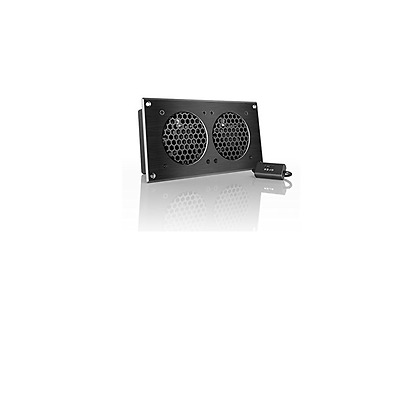 NEW AC INFINITY Airplate S5 2 x 80mm Cabinet Cooler 52 CFM @ 18 dBA AI-CFD80BA