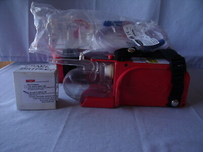 SSCOR S-Scort Jr Quickdraw 2400 Portable Suction Aspirator w/ Case battery! O1