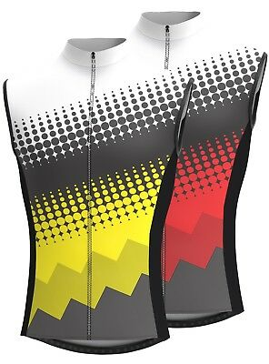 Men's Sleeveless Cycling Jersey Team Racing Cycle Top Breathable Biking Jersey