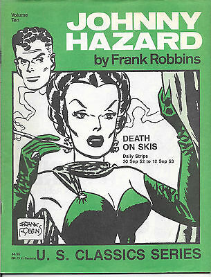 Lot Of 10 Johnny Hazard U.S. Classics #5-#10 Pacific Comics Club #1-#5 F/F+ FZ