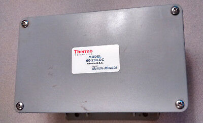 New out of box Thermo Scientific 60-200-DC Ramsey Motion Monitor- Fast Shipping