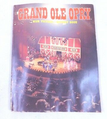 1982 GRAND OLE OPRY with DOLLY Parton DOTTIE West BOOK WSM Country Western Music