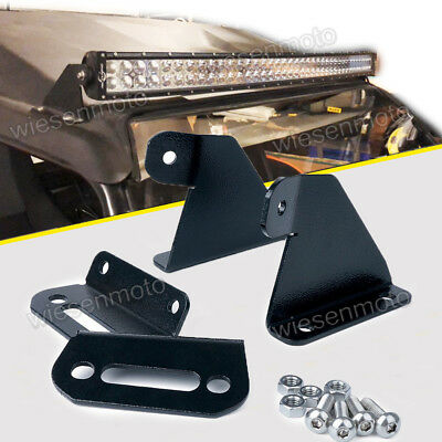16-UP Yamaha YXZ1000R Roof Upper Mount Bracket+40/'/'Curved LED Light Bar Combo