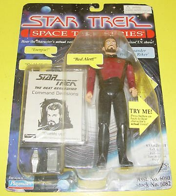 Star Trek Playmates  Space Talk Series - Commander William Riker #06082