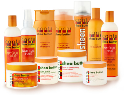 Cantu Shea Butter & Natural Hair Care Afro *full Range* *