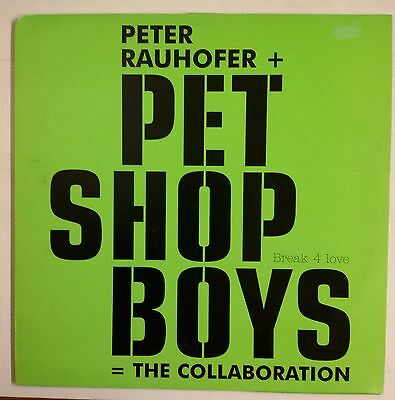 "Pet Shop Boys Break 4 Love Maxisingle 12"" Europe 2001 Promotional 12RDJ 6574"