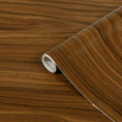 d-c-fix Sticky Back Plastic Self Adhesive Vinyl Wrap Walnut Medium 45cm x 2m