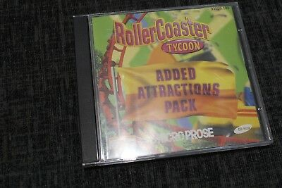 ROLLERCOASTER TYCOON 2 Pc Cd Rom BO ROLLER COASTER RCT RCT2