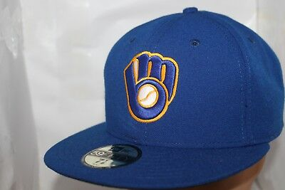 sports shoes 428b8 8837b Milwaukee Brewers New Era Authentic Collection 59Fifty,Cap,Hat   34.99 NEW