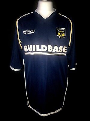 Oxford United 2002-04 Away Vintage Football Shirt - Excellent Condition