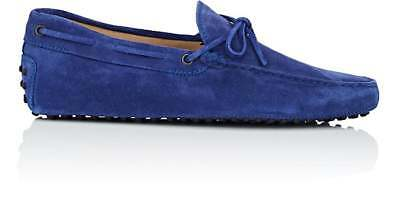 414aaf378de Tod s Men s Suede Tie Drivers US 13 M   UK 12 Blue Suede Loafers Shoes   555.00