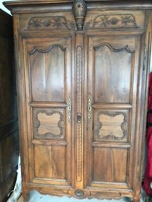Antique 19th Century Armoire - Solid Walnut - Boston Area