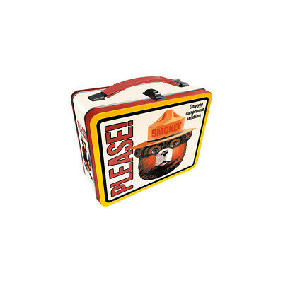 Smokey The Bear Lunch Box Only you Can Prevent Wildfires Forest Fires Gift