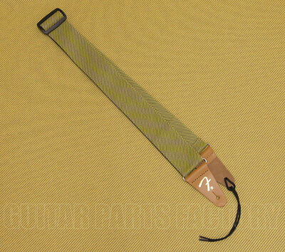 099-0687-000 Genuine Fender Tweed Vintage Amp Style Cotton F Guitar & Bass Strap