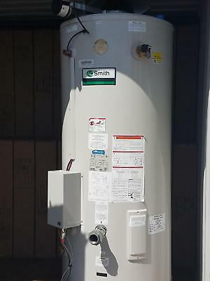 Commercial hot water heater, A.O. Smith, 85 g, gas, 366K BTU