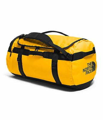 The North Face TNF M-L-XL-XXL Base Camp Travel Luggage Duffel Bag Backpack Gold
