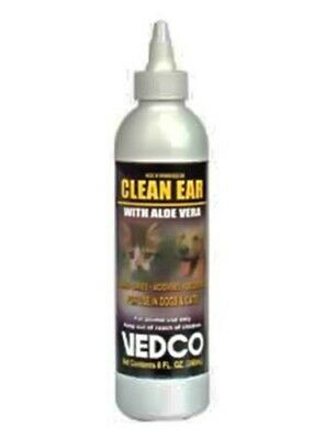 Vedco Clean Ear with Aloe Vera 8oz.