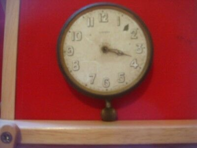 Vintage Asprey 8 Day Movement Travel Clock But No Case Swiss Made Spares Repair