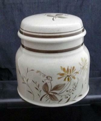Royal Doulton Sandsprite LS1013 Pattern Sugar Bowl with Lid in Lambethware