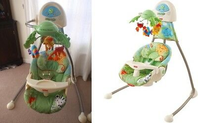 Fisher Price Swing N Rocker Smart Stages 3 In 1 Baby Chair