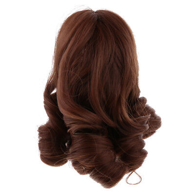 Fashion Wig Hair Hairpiece for 18'' American Girl Doll Making Accessories