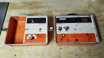 Metrotech 480 Portable Pipe/Cable Locator Transmitter Receiver Unit