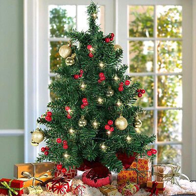 table top decorated christmas tree battery operated small lighted xmas tree 22 - Battery Operated Christmas Trees