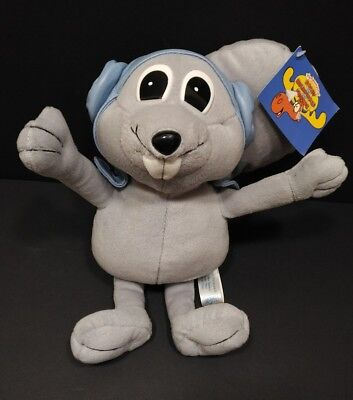 The Adventures of Rocky and Bullwinkle and Friends Plush Stuffed Toy 2000 NEW