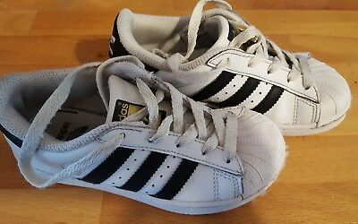 Adidas Superstar Shoes Kids' Sneakers size 11