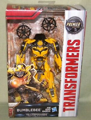 BUMBLEBEE Transformers The Last Knight Movie Deluxe Class Premier Edition 2017