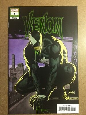 VENOM #1 1:25 Paolo Rivera Variant Donny Cates 05/09/2018 Marvel Comics