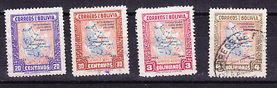 Bolivia 1945 -  1st Air Service Issues