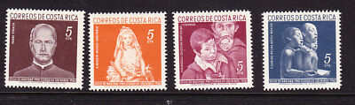 Costa Rica 1960 Obligatory Tax set Mint