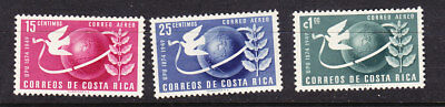Costa Rica 1950 -  75th Anniversary  Universal Postal Union  set Mint