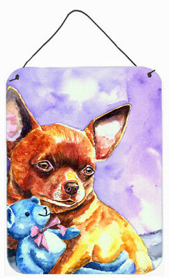 Chihuahua with Teddy Bear Wall or Door Hanging Prints