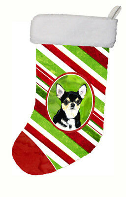 Chihuahua Candy Cane Holiday Christmas  Christmas Stocking SC9359