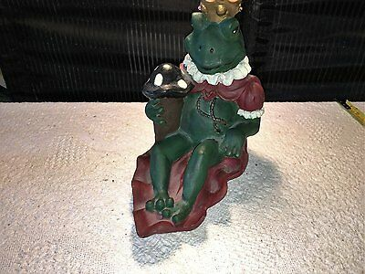 VINTAGE KING FROG 9/12 in TALL GOOD CONDITION