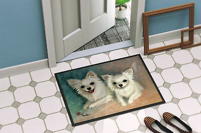 Chihuahua The Siblings Indoor or Outdoor Mat 18x27