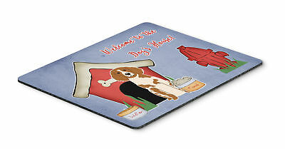 Dog House Collection Brittany Spaniel Mouse Pad, Hot Pad or Trivet
