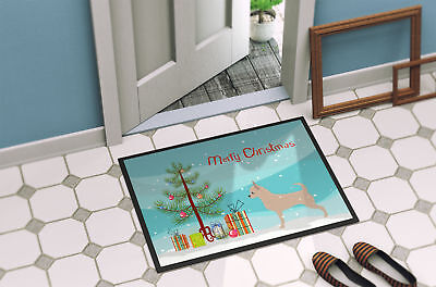 Chihuahua Merry Christmas Tree Indoor or Outdoor Mat 18x27