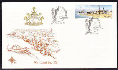 South Africa 1978 Walvisbaai Bay First Day Cover #3.6