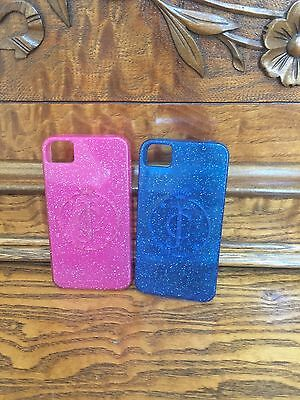 Iphone 5 Pink And Blue Juicy Couture Phone Cases