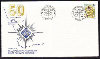 South Africa 1978 State Alluvial Diggings  First Day Cover