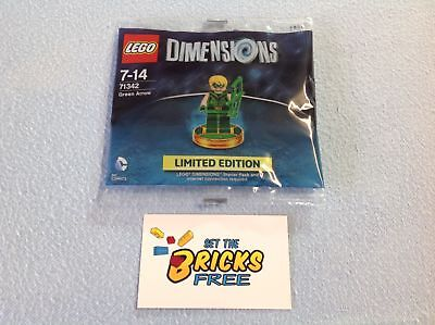 Lego Dimensions 71342 Green Arrow Polybag New/Sealed/Retired/Hard to Find