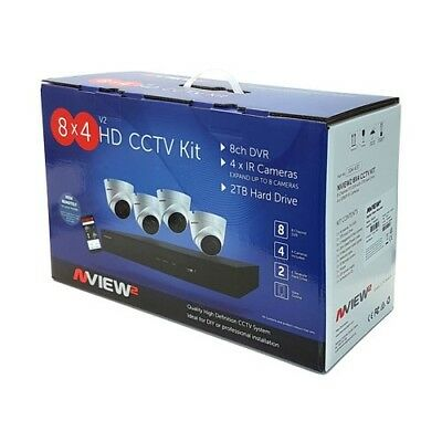 CCTV security camera system (8 Channel) including 4 extra cameras